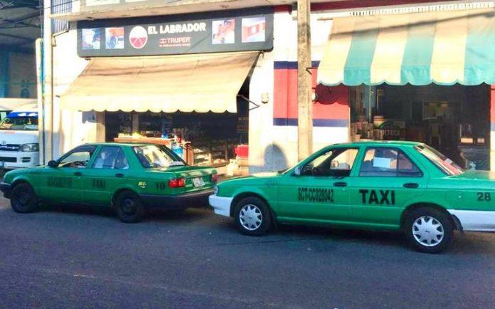 Asociaciones de taxis foreneas argumentan afectación por la pandemia