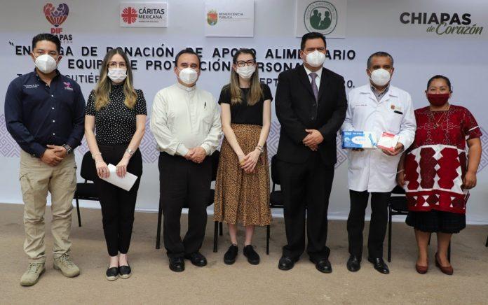 DIF canalizará alimentos a las regiones Altos, Bosques y Norte de la entidad