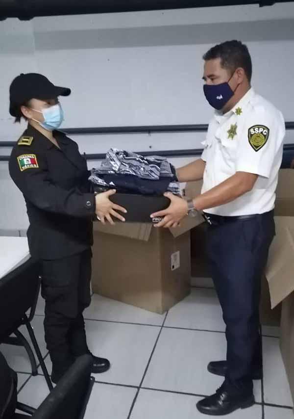 Avanza SSyPC Programa Dignificación Policial en Chiapas