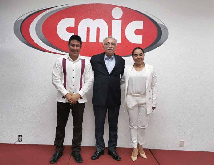 Rogelio López, nuevo presidente de Cmic en Chiapas