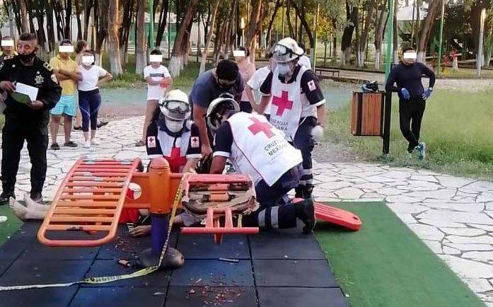 Jovencito se ejercitaba y murió de un paro cardiaco en Tapachula